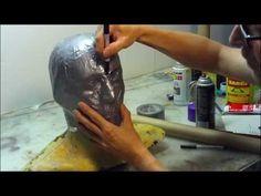 How To Make a Foam Helmet,Tutorial Part 1 - YouTube