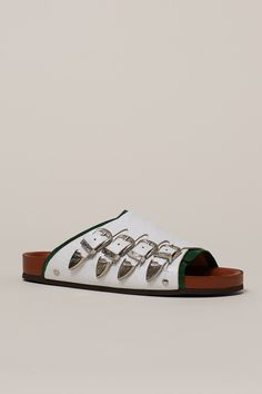 Toga Pulla Multi-Buckle Thick Strap Sandals - WOMEN - Footwear - Toga Pulla - OPENING CEREMONY