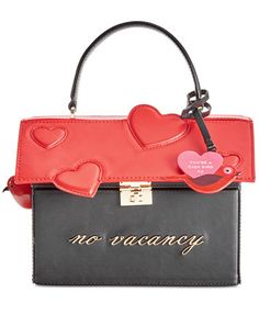 kate spade new york Be Mine Heart Alexya Handbag | macys.com