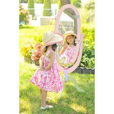 """Magic Garden 51.5"""" H x 20"""" W Standing Mirror"""