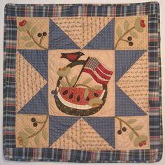 Great little summery quilt - Jan Patek Quilts