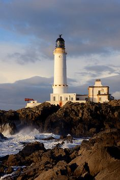 Corsewall Lighthouse, Galloway, Scotland