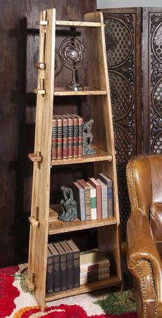 IMAX Bakkar Wood Shelf