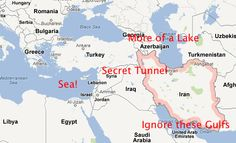 "Map explains Mitt Romney's contention that Syria is ""Iran's route to the sea."""
