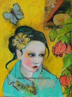 La belleza que te rodea reproducción Open edition - ACEO por Maria Pace-Wynters