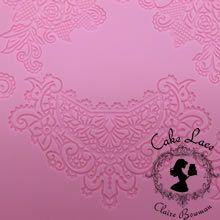 Cake lace Claire Bowman mat - Sweet Lace