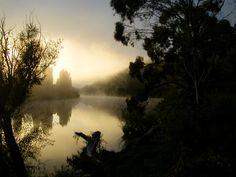Sunrise on the Derwent River, New Norfolk, Tasmania Military Guard, Penal Colony, Abel Tasman, Port Arthur, Southport, Sunrises, Tasmania, Norfolk, East Coast