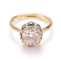 Antique 3.19 carat diamond ring – Page Sargisson