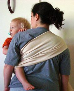 DIY Ring Sling Tutorial