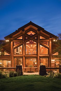 Teton Springs Rear Exterior -Love it.  ...hope your husband does windows..LOL...