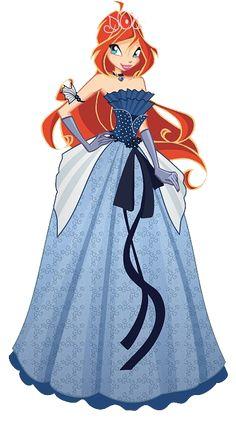 Výsledek obrázku pro winx bloom dress