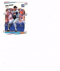 1988 FLEER UPDATE RC JOHN SMOLTZ ATLANTA BRAVES  ROOKIE #U-74 MINT