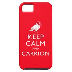 Turkey Vulture iPhone Case: Keep Calm and Carrion