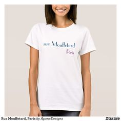 Discover a world of laughter with funny t-shirts at Zazzle! Tickle funny bones with side-splitting shirts & t-shirt designs. Laugh out loud with Zazzle today! T Shirt Designs, Art Designs, Floral Designs, Love T Shirt, Shirt Style, Team Bride, Christopher Street Day, Paris T Shirt, Girls Wardrobe