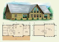 buchanan log home and log cabin floor plan the cabin of my
