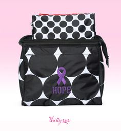 October is Domestic Violence Awareness Month. Go purple to show your support for strength! For every ribbon purchased 31 cents will be donated to Thirty-One Gives to support our mission to empower women and girls and strengthen families.
