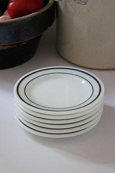 Vintage Diner Plate Set of Six