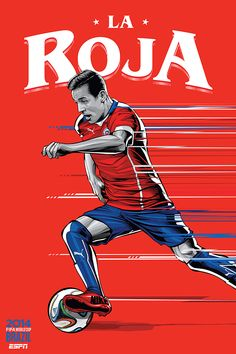 ESPN posters for 2014 FIFA World Cup on Behance