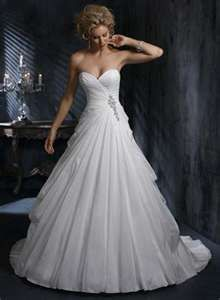 Corset wedding dress I really kind of like this.