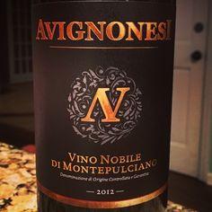 Nittany Epicurean: 2012 Avignonesi Vino Nobile di Montepulciano DOCG