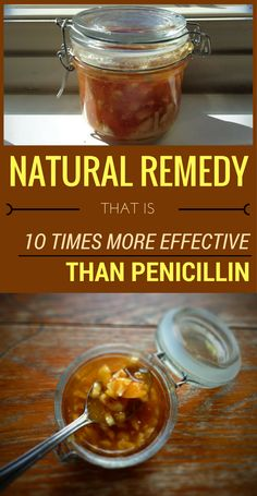 Natural Remedy That Is 10 Times More Effective Than Penicillin - With these temperature variations, our body is a real target for bacteria and viruses that weaken our immune system…and antibiotics are not the best solution. They have side-effects and incr Natural Headache Remedies, Natural Health Remedies, Natural Cures, Natural Healing, Natural Foods, Natural Beauty, Holistic Healing, Natural Oil, Natural Sleep