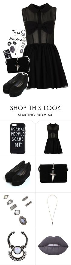 """Tired and uninspired"" by lostinthecosmics ❤ liked on Polyvore featuring Topshop, Cesare Paciotti, Forever 21, Isabel Marant, New Look and Lime Crime"