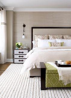 Master Bedroom - contemporary - bedroom - toronto - Laura Stein Interiors