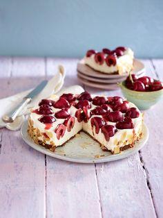 Für den coolen Kuchengenuss: köstliche Kühlschrankkuchen. Herrlich cremig und himmlisch fein - 19 schnelle Kuchen Rezepte ohne backen.