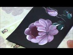 Peony painting マツムシソウ - YouTube