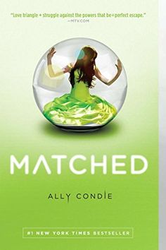 Matched- Cassia has always trusted the Society to make the right choices for her: what to read, what to watch, what to believe. So when Xander's face appears on-screen at her Matching ceremony, Cassia knows he is her ideal mate . . . until she sees Ky Markham's face flash for an instant before the screen fades to black. The Society tells her it's a glitch, a rare malfunction; Cassia begins to doubt the Society's infallibility.