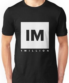 55ee3cd72ee09 1 Million Studio - Dance Unisex T-Shirt Dance Logo