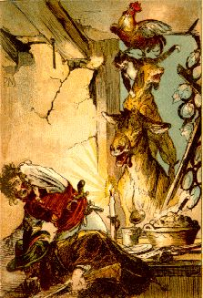I was unfamiliar with German artist Paul Friedrich Meyerheim until recently. He isn't primarily known for fairy tale illustrations (unl. Children's Book Illustration, Illustrations, Classic Fairy Tales, Brothers Grimm, Grimm Fairy Tales, Like Image, Animals Images, Faeries, Fine Art