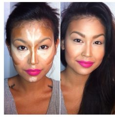 How to apply bronzer and highligter