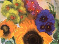 lonequixote:Summer Flowers~Emil Nolde