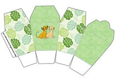 Lion King - Complete Kit with invitation frames, labels for goodies, souvenirs and pictures! Lion King Simba, Disney Lion King, Paper Box Template, Box Templates, Go Diego Go, Lion Birthday, Lion King Party, Oh My Fiesta, Le Roi Lion