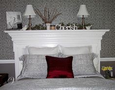 How to Make a Headboard Out of a Mantel