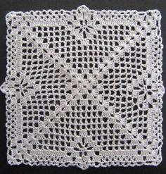 Transcendent Crochet a Solid Granny Square Ideas. Inconceivable Crochet a Solid Granny Square Ideas. Granny Square Crochet Pattern, Crochet Blocks, Crochet Diagram, Crochet Squares, Filet Crochet, Crochet Motif, Crochet Designs, Crochet Doilies, Crochet Bedspread