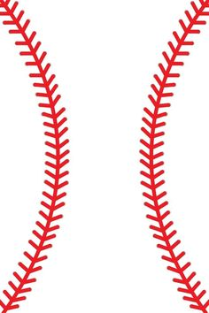 Little League Baseball Clip Art | Red Baseball Laces Clip Art ...