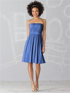 The beauty of romantic lux chiffon is yours when you choose this After Six 6620 Bridesmaid dress for your bridal party and your delightfully elegant ceremony. Imagine this Dessy designed cocktail-length strapless dress in the color of your wedding theme. Spring Bridesmaid Dresses, Beautiful Bridesmaid Dresses, Wedding Bridesmaid Dresses, Cute Dresses, Prom Dresses, Dessy Bridesmaid, Dresses 2014, Bridesmaid Color, Bridesmaid Ideas