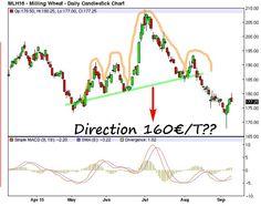 """L'ETE """"Mutante"""" en action Candlestick Chart, Charts"""