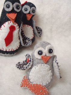 Penguin baby.  Can't wait to make this one.