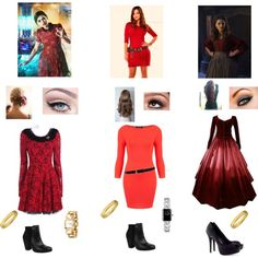 Clara Oswin Oswald. I could rock the middle one for Halloween!