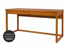Escrivaninha 160 Duna - Cerezo - meu móvel de madeira