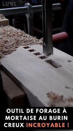Le moyen le plus rapide, le plus simple et le plus précis d'obtenir un trou carré dans dus bois. Effectue des coupes toujours nettes avec une efficacité exceptionnelle. Fait en acier trempé pour des performances efficaces et une longue durée de vie. Vous économise du temps, de l'énergie et de la frustration par rapport aux anciennes méthodes de forage.