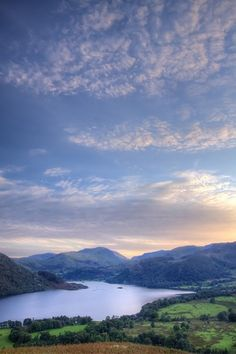 Ullswater - Cumbria.  Best camp sites in the world.  Waking up to a view that is priceless