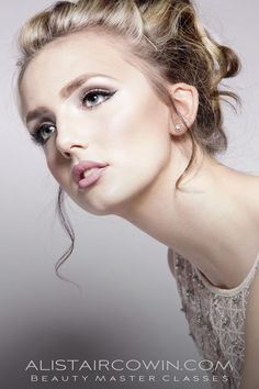 Photographed for Alistair Cowin's Beauty Books and the model's Portfolio.  MUA: Ruth Hancox