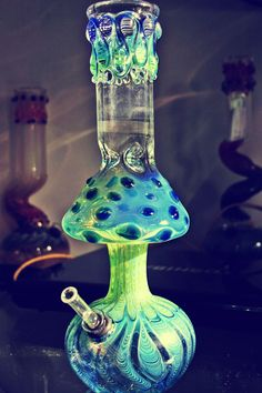 Mushroom bong in perfect colors!
