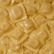 """Baking fresh ravioli opens up a whole new world of """"pasta-bilities"""" you don't get with dry pasta. Fresh ravioli has a chewy bite and more flavor, even though it doesn't cook to al dente. How To Cook Ravioli, Ravioli Bake, Baked Ravioli, Ravioli Lasagna, Fish Recipes, Seafood Recipes, Cooking Recipes, Pasta Recipes, Cooking Tips"""