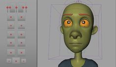 cartoon facial rig on Vimeo