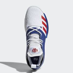 newest 4d900 ce73f The adidas Harden Vol. 2 Appears In USA Colors Adidas Sneakers, Shoes  Sneakers,